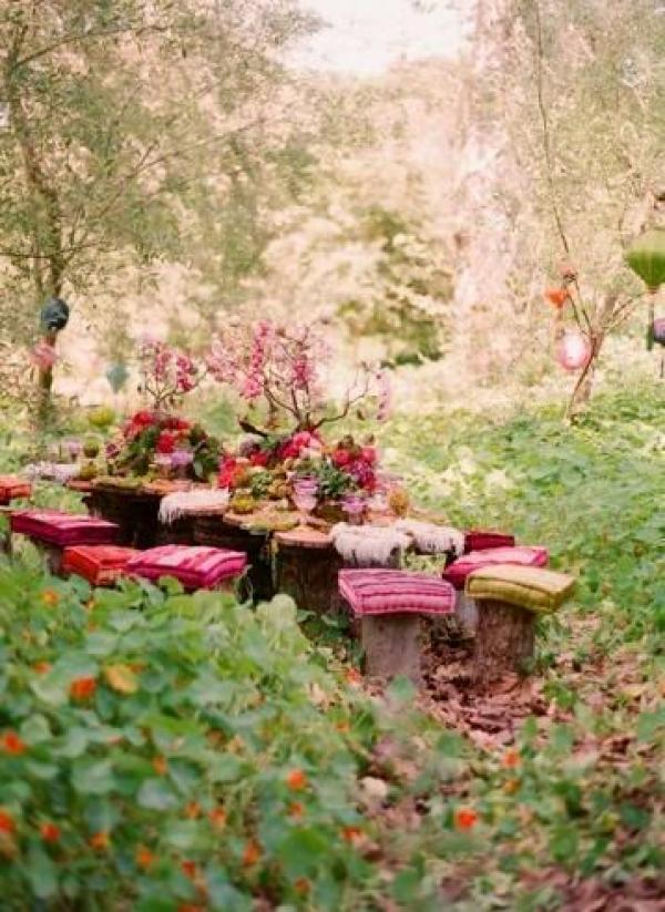 Fairy garden wedding 2