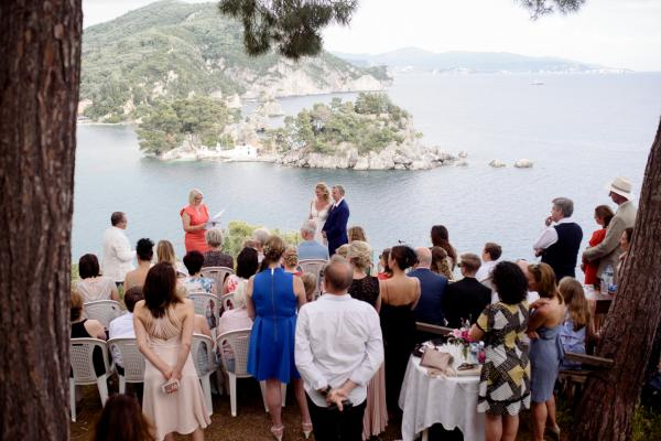 Parga wedding