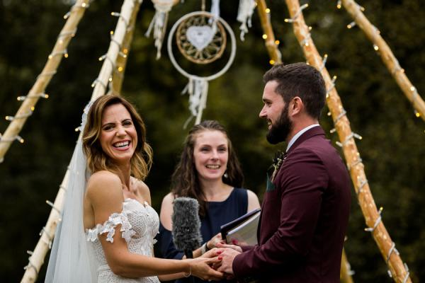 Real Celebrant Wedding - Ash and Teresa