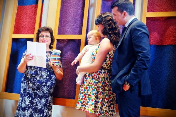 How does a Naming Ceremony differ to a Christening?