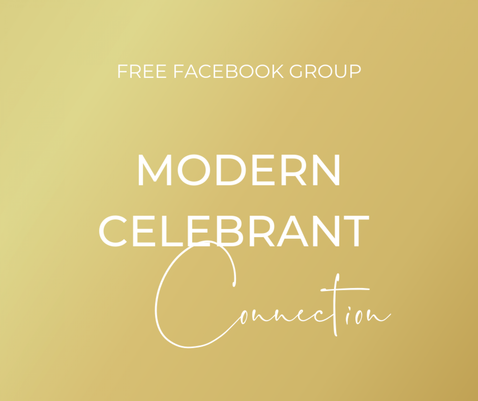 Join your FREE Facebook Celebrant Community